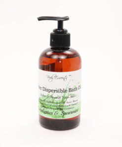 bath oil eucalyptus spearmint 8oz