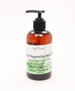 bath oil sweet patchouli 8oz