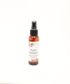 hydrating botanical body mist peach blossom 2oz