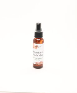 hydrating botanical body mist rosemary peach mint 2oz