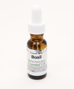 essential oil basil 0.5oz