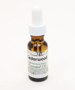 essential oil cedarwood 0.5oz
