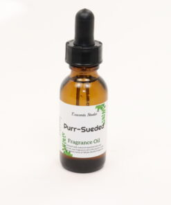 fragrance oil purr sueded 1oz