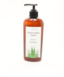 hand body lotion sweet patchouli 8oz
