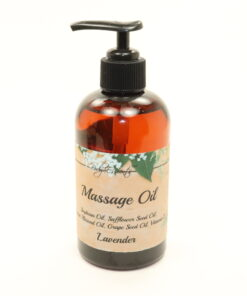 massage oil lavender 8oz