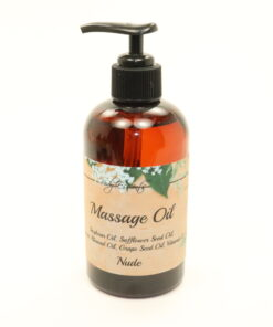 massage oil nude 8oz