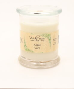 status candle apple cart 12oz
