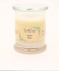 status candle asian pear 12oz