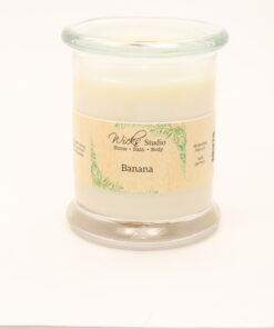 status candle banana 12oz