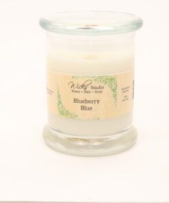 status candle blueberry blue 12oz