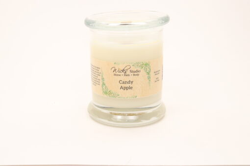 status candle candy apple 12oz
