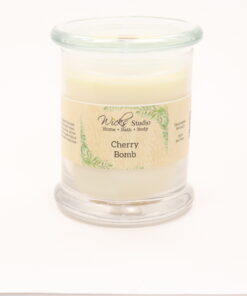 status candle cherry bomb 12oz