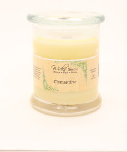 status candle clementine 12oz