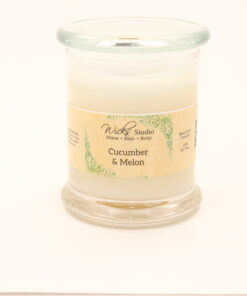 status candle cucumber melon 12oz