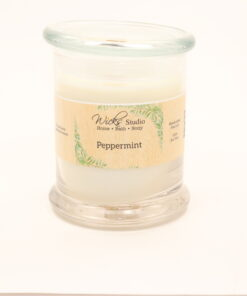 status candle peppermint 12oz