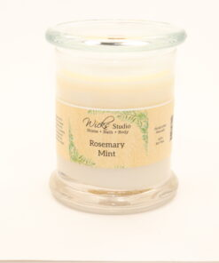 status candle rosemary mint 12oz