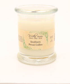 status candle southern pecan coffee 12oz
