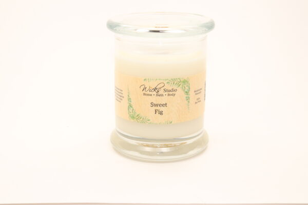 status candle sweet fig 12oz