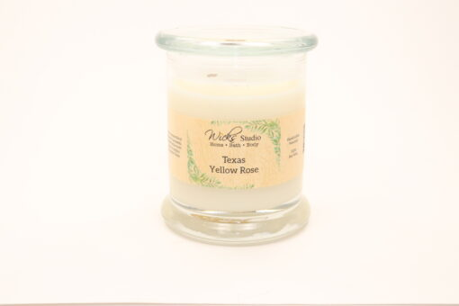 status candle texas yellow rose 12oz
