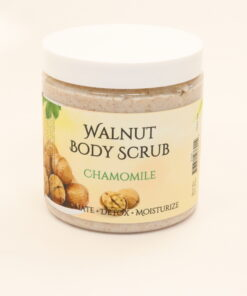 walnut body scrub chamomile 11oz
