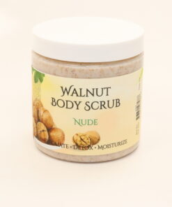 walnut body scrub nude 11oz